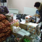 Lebensmittel verteilen - doch es reicht einfach nicht...